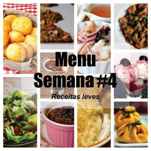 receitas menu light