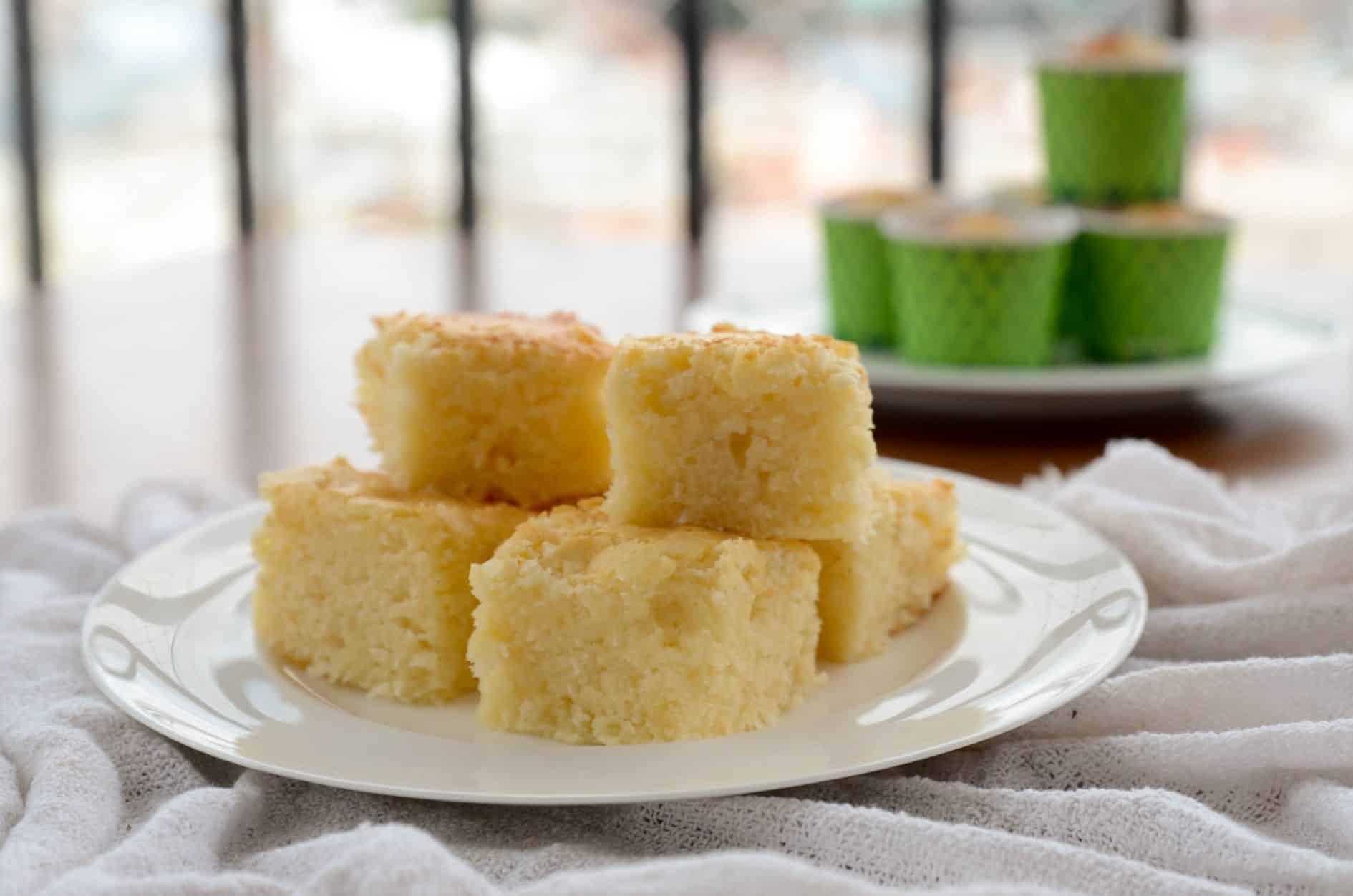 receita de bolo de coco super molhadinho