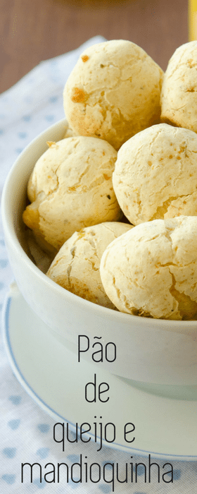 Receita de pão de queijo, mandioquinha e polvilho - fácil para congelar