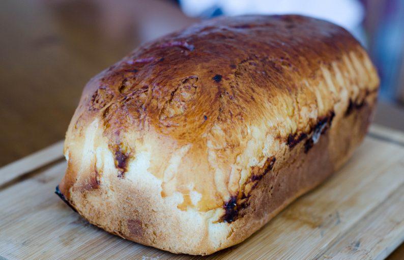 Receita de pão de forma petrópolis
