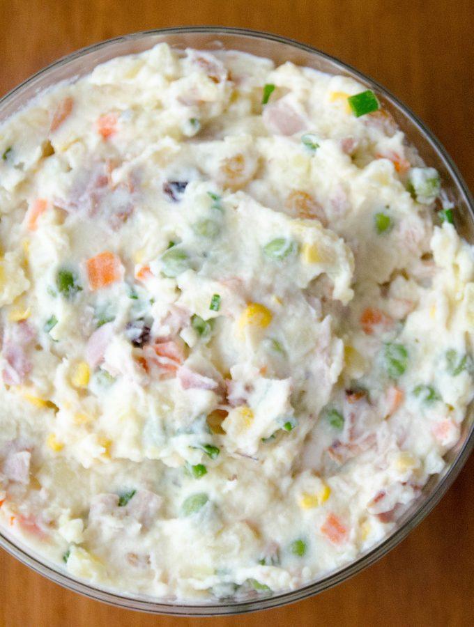 Salada de Batata e Maionese