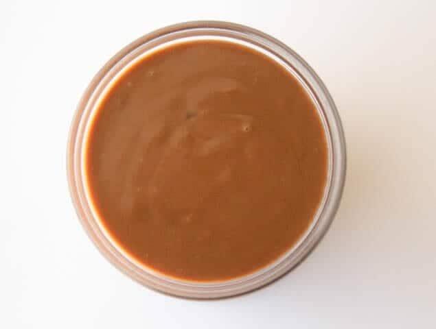 calda de chocolate cremosa